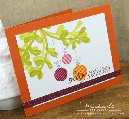 Sending Christmas Joy Card