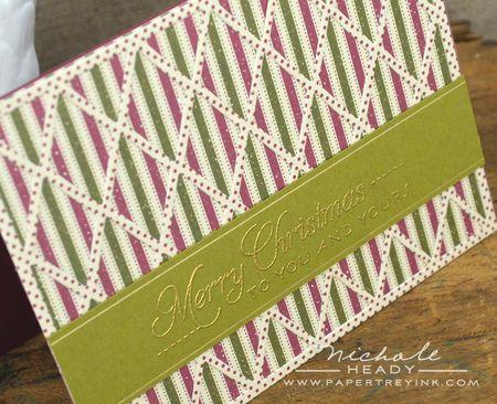 Dot & stripe down