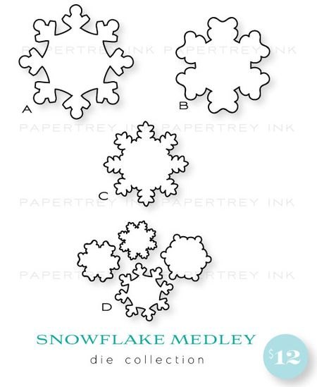 Snowflake-Medley-dies