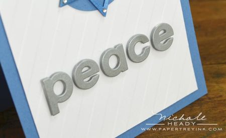 Peace closeup