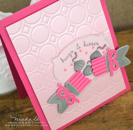 Hugs & kisses card