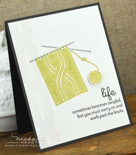 Tangled Card