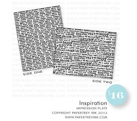 Inspiration-impression-plate