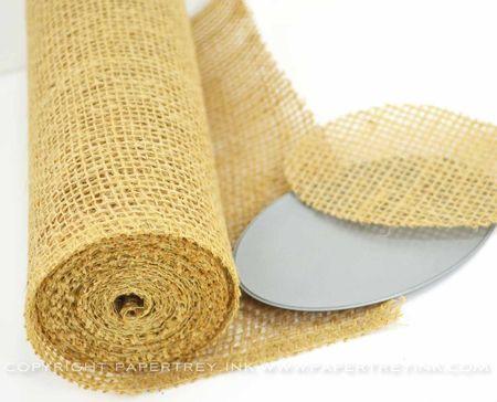 Burlap Craft Roll