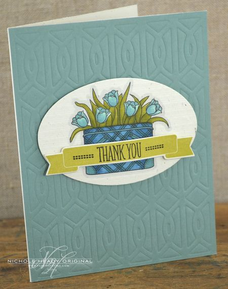 Tulip Thank You Card