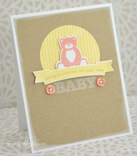Baby Bear Card