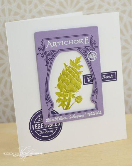 Artichoke Card