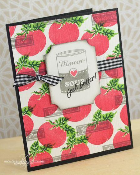 Tomato Soup Card