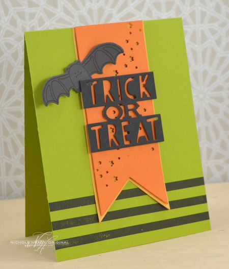 Trick or Treat Bat Card