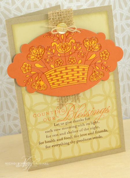 Counting Our Blessings Card