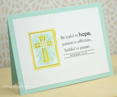 Romans 12-12 Card