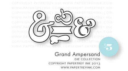 Grand-Ampersand-dies