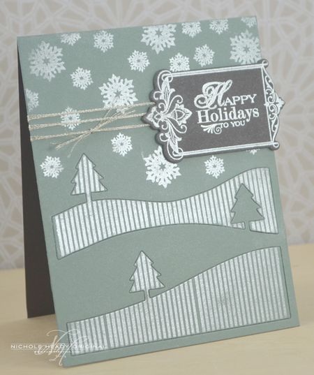 Holiday Pearls card