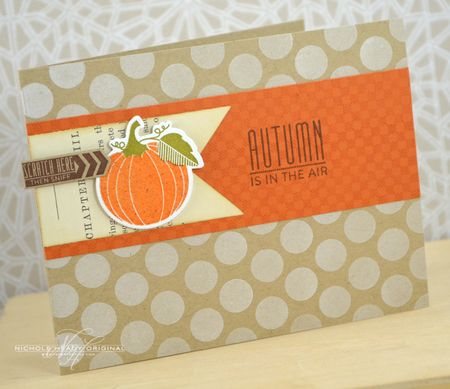 Autumn in the Air Card