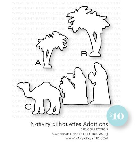 Nativity-Silhouettes-Additions-dies