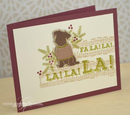FaLaLaLa Card