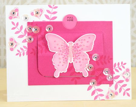 Be Brave Butterfly Card