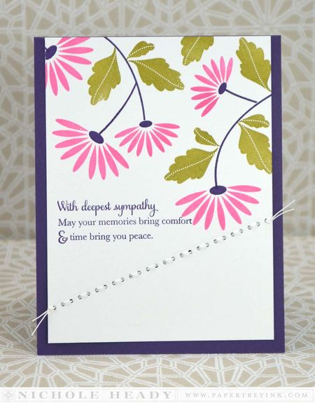 Sympathy Stitches Card