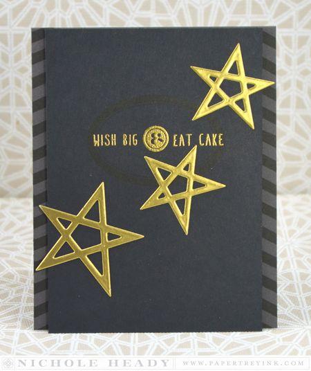 Wish Big Eat Cake Card