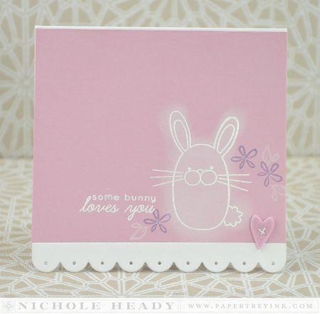 Bunny Love Card