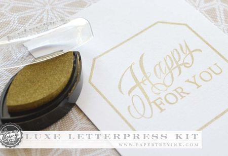 Luxe Letterpress ink
