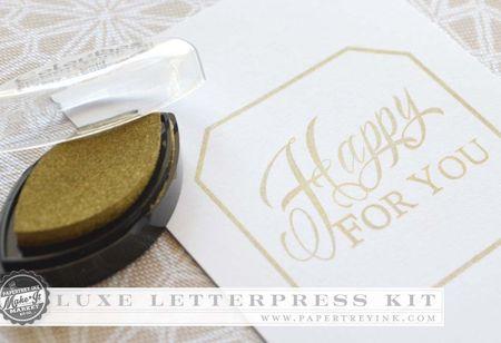 Luxe Letterpress ink
