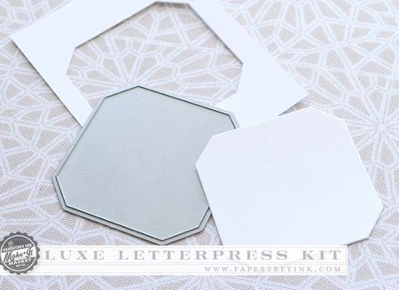 Luxe Letterpress frame die