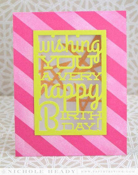Birthday Text Card