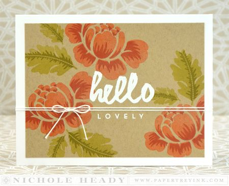 Hello Lovely Card
