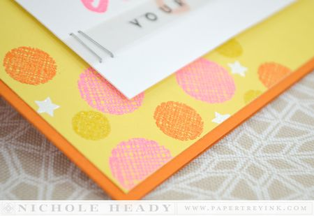 Embossed dots