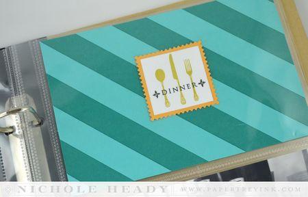 Dinner card
