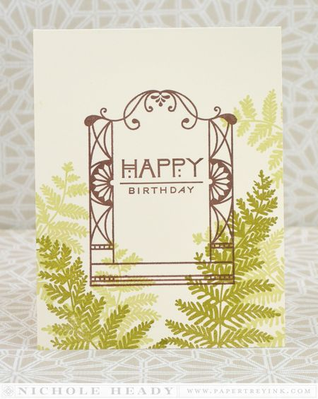 Fern Birthday Card