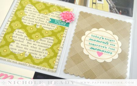 Butterflies & plaid cards