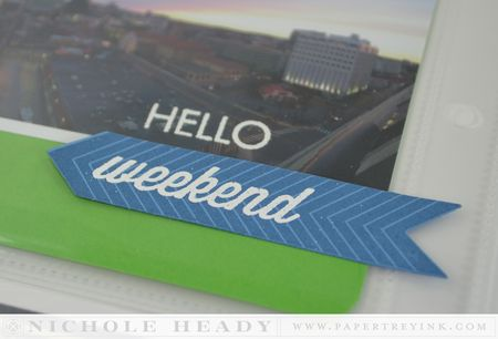 Hello weekend detail