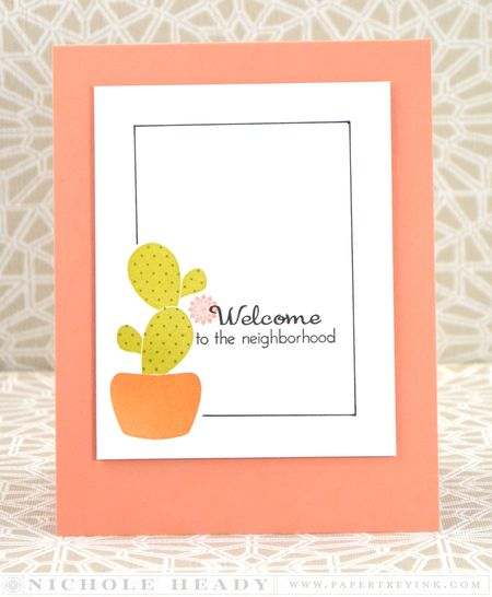 Welcome to the Neighborhood Card