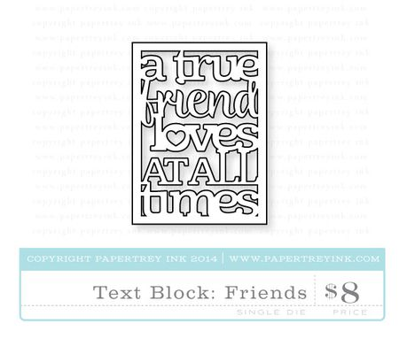 Text-Block-Friends-die