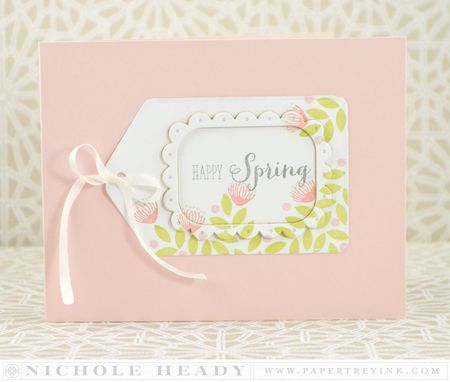 Happy Spring Tag Card