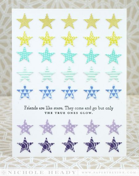 True Friends Glow Card