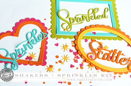 Die cut collection samples