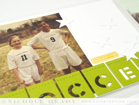 Soccer closeup