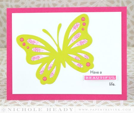 Beautiful Life card