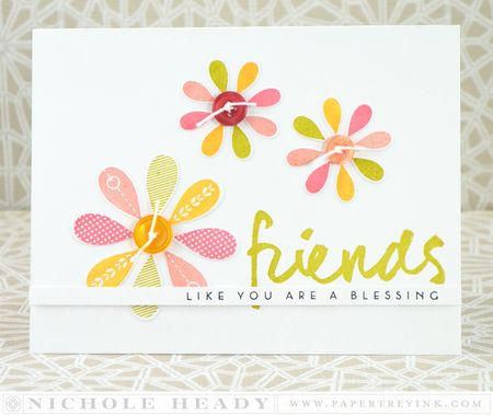 Floral Friends Card