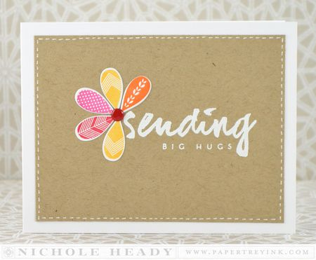 Sending Big Hugs card
