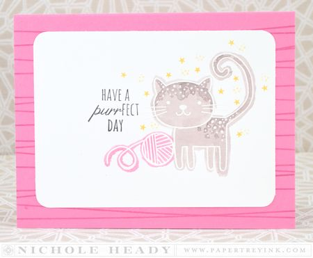 Purrfect Day Card