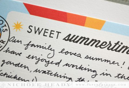 Sweet summertime title