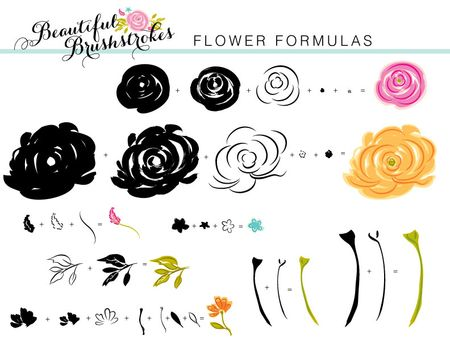 Beautiful-Brushstrokes-Flower-Formulas