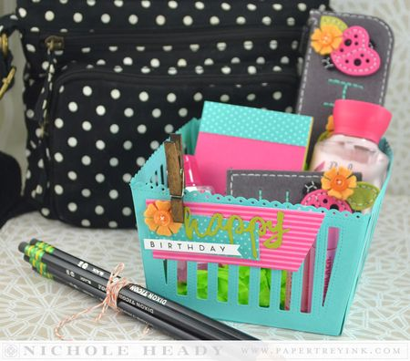 Purse Accessories Gift Basket