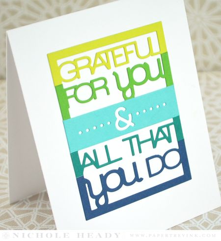 Grateful Stripes Card