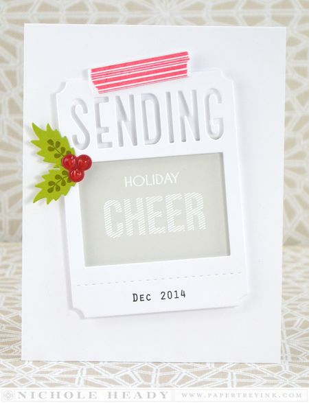 Sending Holiday Cheer Card
