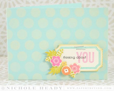 Thinking About You Ticket Card